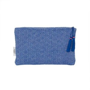 Blue Pattern Small Clutch - Palm Edit
