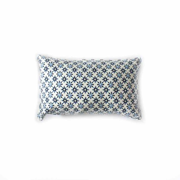 Daisy Print Cushion - 45x25cm - Palm Edit