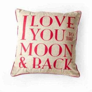 I Love You to the Moon and Back - Pink - Palm Edit