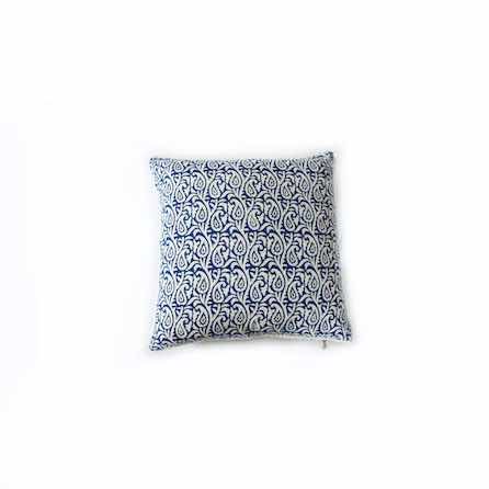 Indian Print Cushion - Palm Edit