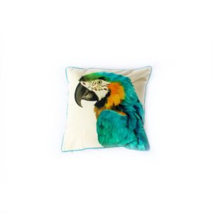 Parrot Cushion - Palm Edit