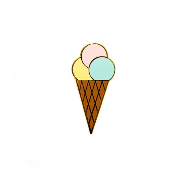 Ice Cream Pin - Palm Edit