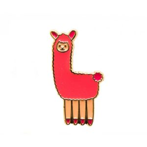 Llama Pin - Palm Edit