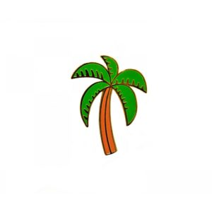Palm Tree Pin - Palm Edit